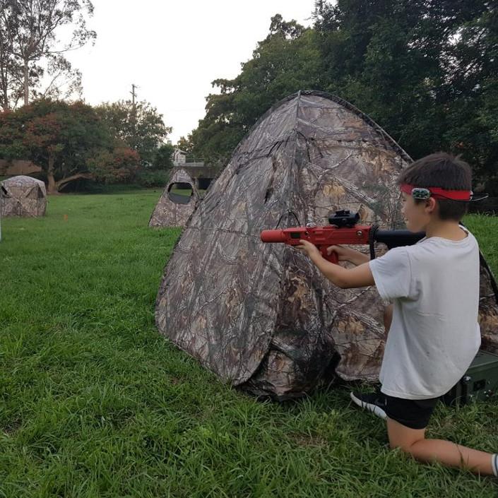 Laser Tag tactical battleground