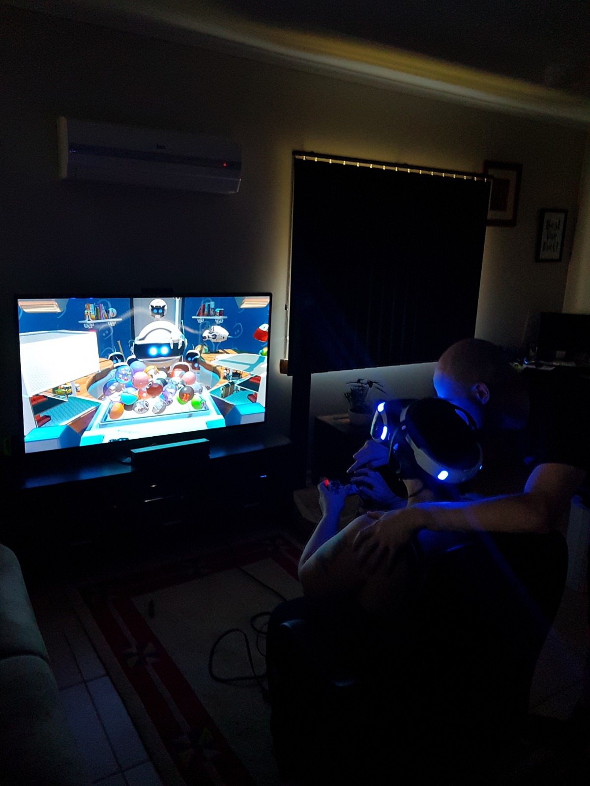 Mr and Mrs Ghostly Playing VR together <3
