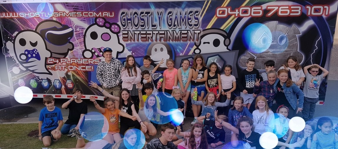 ghostly games video game parties