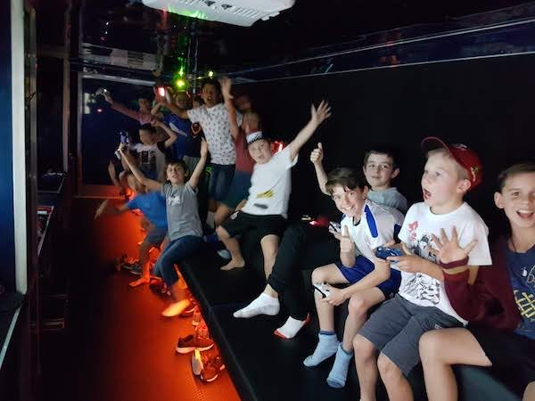 kids game bus brisbane